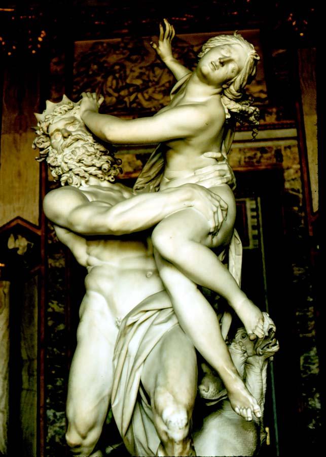 ... de Oudere (1669-1728): De ontvoering van Persephone door Hades